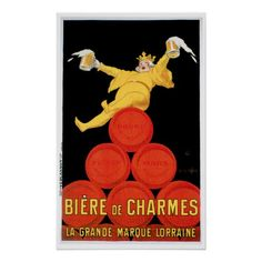 Shop Biere De Charmes Vintage Drink Ad Art Poster created by redwingshoppe. Personalize it with photos & text or purchase as is! Art Vintage, Vintage Art Prints, Vintage Ads, Vintage Posters, French Vintage, French Posters, Italian Posters, Vintage Travel, Poster Retro