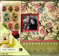 K & Company 12 x 12 Merryweather Scrapbook Kit is available at Scrapbookfare.com.
