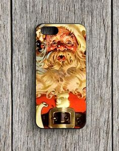 Santa's Christmas Brunch Party In The Old Kitchen iPhone 5 | 5S Case