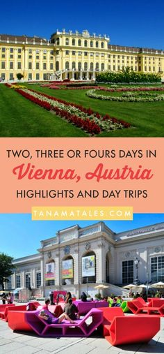 Things to do in #Vienna, #Austria – Travel highlights, day trips and itineraries – Vienna is a city fill of architectural splendor, artistic goodness and intellectual legacy.  Because of that, there are tons to see.  Do not worry! Here are my recommendati