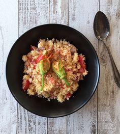 LanisLeckerEcke: Couscous-Salat mit Tomate-Mozzarella
