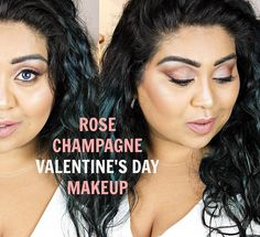 #bbloggers Watch my tutorial to recreate this look on Valentine's Day  Link in bio. #NishiV_MUA