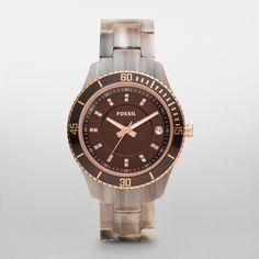 FOSSIL® Watch Collections Stella Watches:Women Stella Resin Watch ES3090