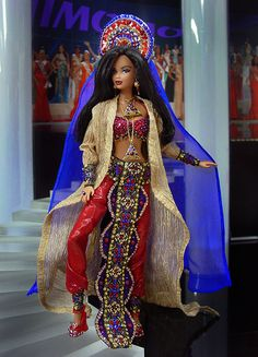 ๑Miss Kuwait 2012' http://www.pinterest.com/suchay27/my-fashionista-barbies/