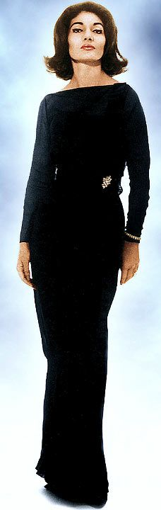maria callas fashion - Google Search