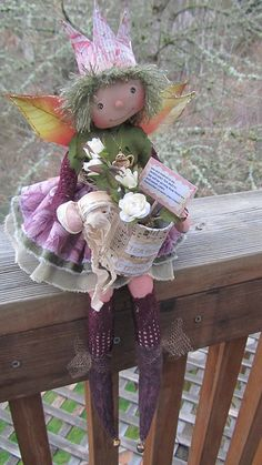wee Rosey invites you to a faerie land Tea party!