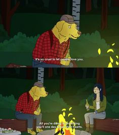 TVShow Time - BoJack Horseman S03E08 - Old Acquaintance// i actually think about this a lot