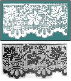 Arquivo dos álbuns Crochet Skirt Pattern, Crochet Lace Edging, Crochet Diagram, Crochet Chart, Crochet Doilies, Afghan Patterns, Doily Patterns, Crochet Patterns, Filet Crochet