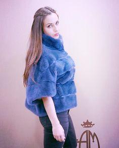 blue mink pullover