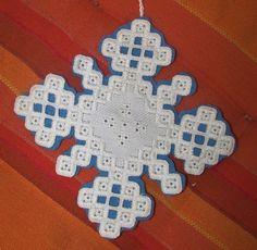 Humming Needles: Hardanger Snowflake