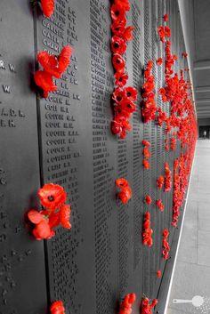 Wall of Remembrance - Australian War Memorial Anzac Memorial, Memorial Day, Remembrance Day Art, Ville Rose, Flanders Field, Anzac Day, Australia Day, Lightning Strikes, World War I