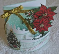 Sleigh Ride Edgelits, Jingle All the Way stamp, Home for Christmas DS paper - Stampin' Up