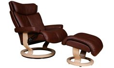 Heal's | Ekornes Magic Stressless Recliner And Footstool - Recliners Chairs - Armchairs - Furniture