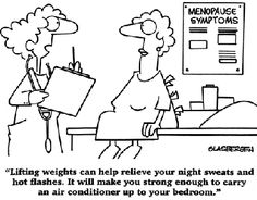 Exercise definitely helps with menopause symptoms! http://www.bodysciencemedical.com/menopause/cardio-workouts-may-ease-menopause-symptoms/