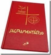 SacramentárioLivro que resume de maneira sucinta, os rituais dos principais sacramentos.