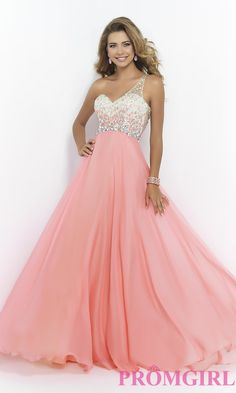 Embellished Chiffon Lilac Princess One-Shoulder Natural Prom Dress In Stock prom dress prom dresses Homecoming Dresses 2017, Cute Prom Dresses, Elegant Dresses, Pretty Dresses, Beautiful Dresses, Formal Dresses, Quinceanera Dresses, Wedding Dresses, Pastel Prom Dress