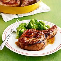 Honey-Chipotle Pork Chops - Every Day with Rachael Ray (July/August 2014).