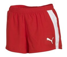 Puma Womens Race Short Puma Red Large -- You can find out more details at the link of the image.