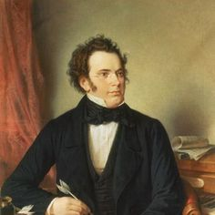 Franz Schubert Andante from Sonata in A classical sheet music notes