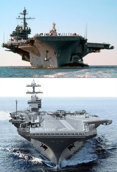 USS John F. Kennedy - Past and Future. #JFK #KennedyCVN79 my dad worked on this ship