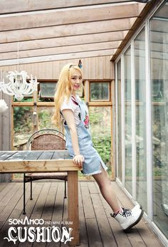 Sonamoo Min Jae Cushion Album