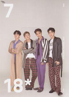 [SCAN] 2018 EXO SEASON'S GREETINGS #카이 #시우민 #첸 #세훈