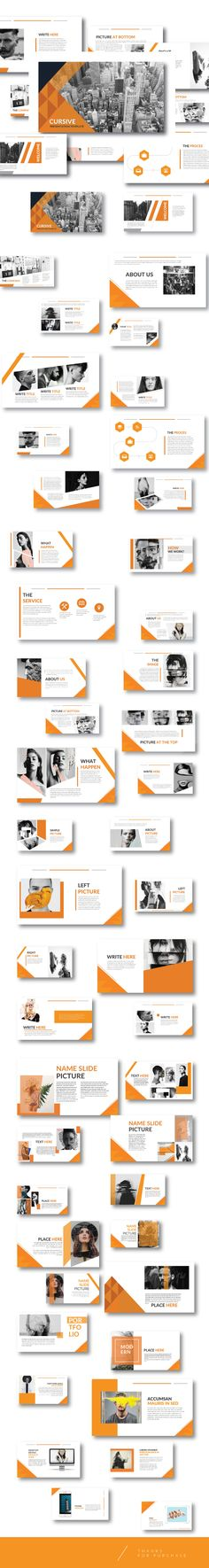 Modern Orange Multipurpose Template keynote - Business #Keynote #Templates Download here: https://graphicriver.net/item/modern-orange-multipurpose-template-keynote/20337354?ref=alena994