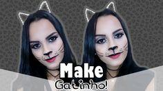 Maquiagem de gatinha - Especial de Carnaval | Por Rafaela Pinheiro