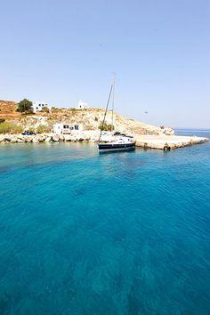 Kimolos island in Greece
