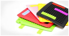 DealDey - Silicone Lego Type iPad Smart Case