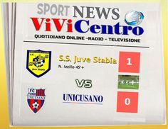 Juve Stabia vs Unicusano FONDI: cronaca testuale Primo tempo -1-0