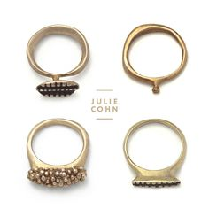 Ohhh, These Rings Are Pretty