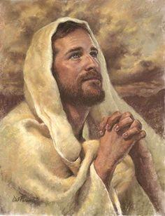 ✿Jesus Christ, Lord and Savior✿ Jesus Face, God Jesus, Arte Lds, Pictures Of Jesus Christ, Lds Art, Jesus Christus, Christen, Christian Art, Religious Art