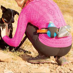Kurgo Dog Products - K9 Excursion Running Belt, $30.00 (http://www.kurgo.com/outdoor-gear/k9-excursion-running-belt/)