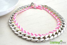Jewellery Making Ideas about a Big Chunky Necklace with Threads and Chains - Pandahall.com