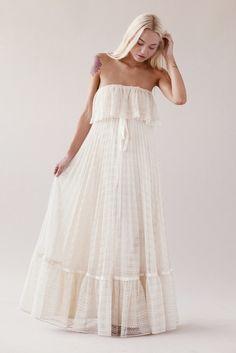 Cecilia 70s Wedding Dress