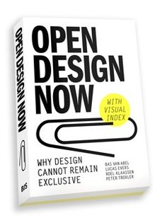 Open Design Now: Why Design Cannot Remain Exclusive surveys this emerging field for the first time. Insiders including John Thackara, Droog Design's Renny Ramakers and Bre Pettis look at what's driving open design and where it's going. They examine new business models and issues of copyright, sustainability and social critique.