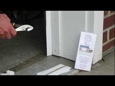 How to seal/rodent Proof Garage Door with the GARAGE DOOR RODENT GUARD - YouTube