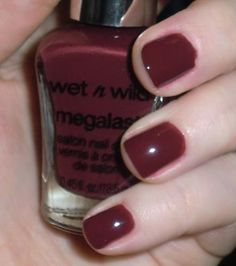 Wet n Wild Megalast - Haze of Love -- fave polish at the moment, dupe for Essie Recessionista.