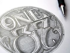 One37 by Martin Schmetzer... really have to start practicing hand lettering! i love it