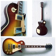 Les Paul [Custom]   Body : Mahogany  Neck : Maple trussrod  Tuner : Giok  Bridge : Fixed Pickup : GnB Korea  String   : D'addario 0.10  Finishing : Satin Sunburst