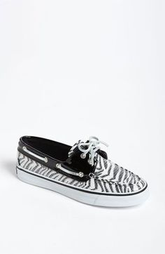 Sperry Top-Sider® 'Bahama' Boat Zebra Shoe (Online Exclusive) available at #Nordstrom