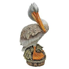 Fresh from a Seaside Perch Pelican Statue. Home,Yard & Garden Products & Gifts.