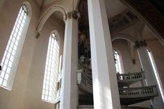 Säulenblick - zur Orgel #Wenzelskirche #Naumburg