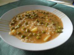 Minestra riso, piselli e patate by graziellar32 on www.ricettario-bimby.it