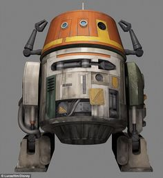 New Droid Revealed For 'Star Wars: Rebels Meet chopper. The grumpy astro - Star Wars Cake - Ideas of Star Wars Cake - New Droid Revealed For 'Star Wars: Rebels Meet chopper. The grumpy astromech. Star Wars Droiden, Nave Star Wars, Star Wars Gifts, Chopper, Star Wars Rebels Characters, Cartoon Characters, Jedi Meister, Star Wars Personajes, Star Wars Models