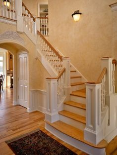 Best Painted Stairs To Look Like Stacked Books Paint 400 x 300