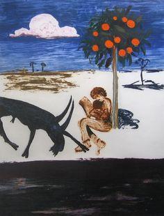 Arthur Boyd ~ The Poet Australian Painting, Australian Artists, Arthur Boyd, Avant Garde Artists, New Zealand Art, Collagraph, Modern Artists, Graphic Design Posters, Melancholy