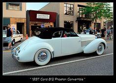 1937 Cord 812 Phaeton Convertible