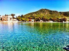 Bodrum / Turgutreis, Muğla, Turkey - Akyarlar beach. Bodrum